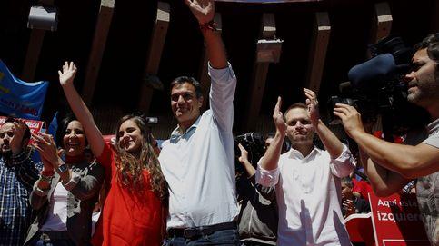 Sánchez cierra campaña con ataques a Díaz y subrayando su perfil de líder de las bases
