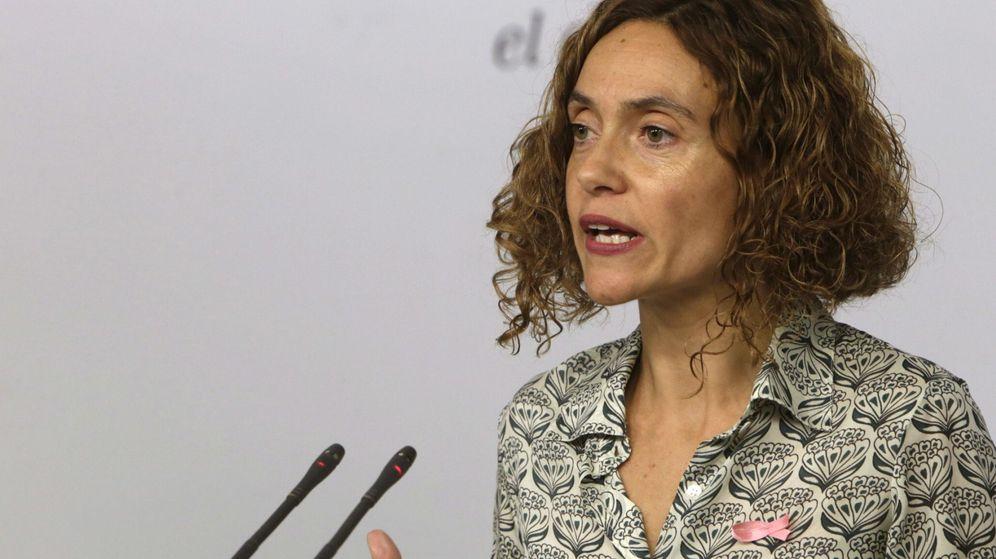 Foto: Meritxell Batet, coordinadora del programa electoral del PSOE y número dos por Madrid, este 19 de octubre en Ferraz. (EFE)
