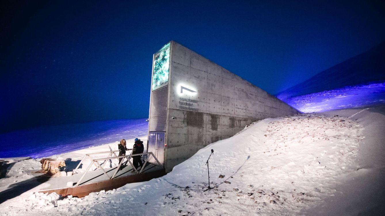 El 'banco del fin del mundo' está bajo el hielo y no guarda ni un céntimo