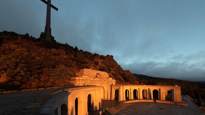 Vista general del Valle de los Caídos Varias donde los restos de Francisco Franco. (EFE)