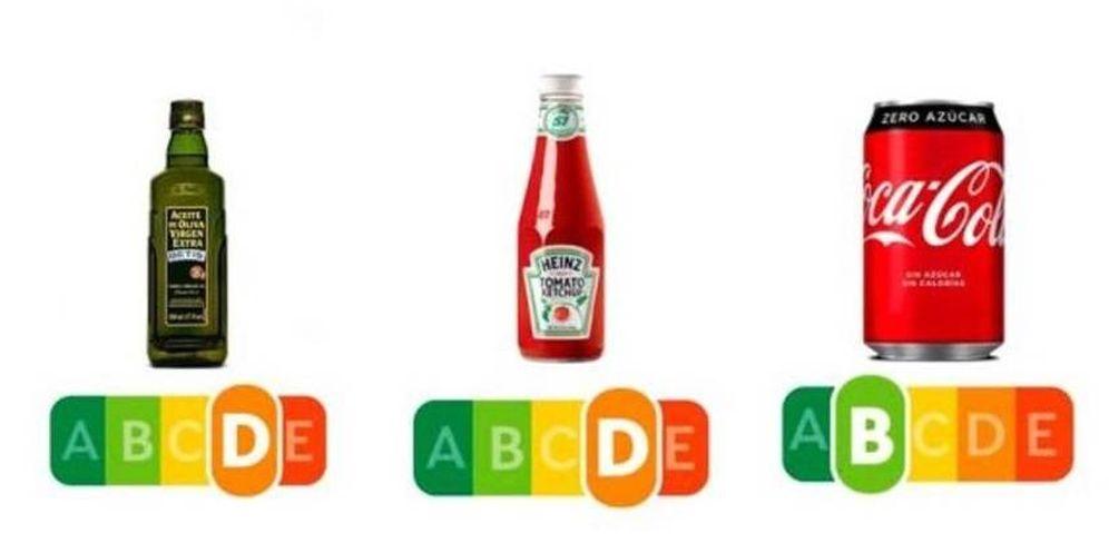 Foto: Así será el nuevo sistema de etiquetado Nutri-Score. Imagen: SinAzucar.org
