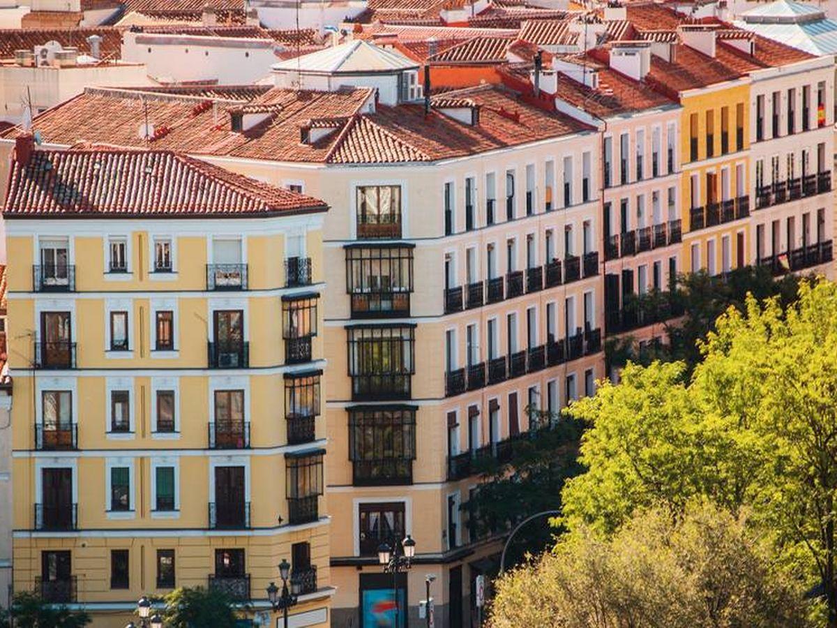 Foto: Bloque de viviendas en Madrid. (iStock)