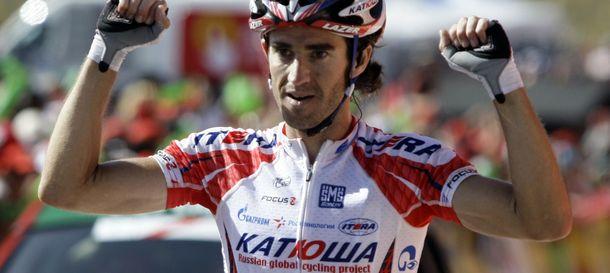 Foto: Dani Moreno se llevó la cuarta etapa (Reuters).