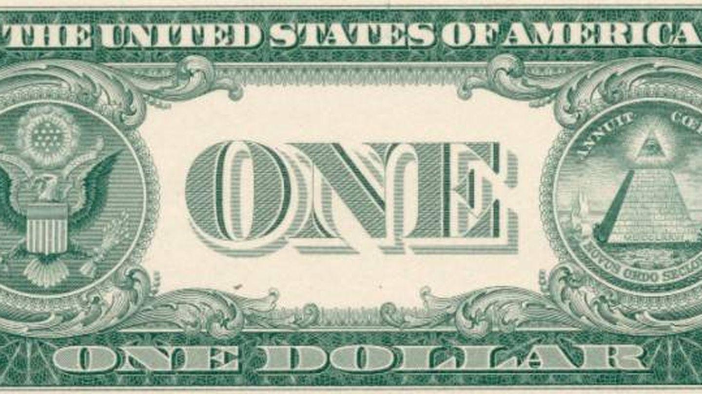 El reverso del billete de 1 dólar. (CC/Wikimedia Commons)
