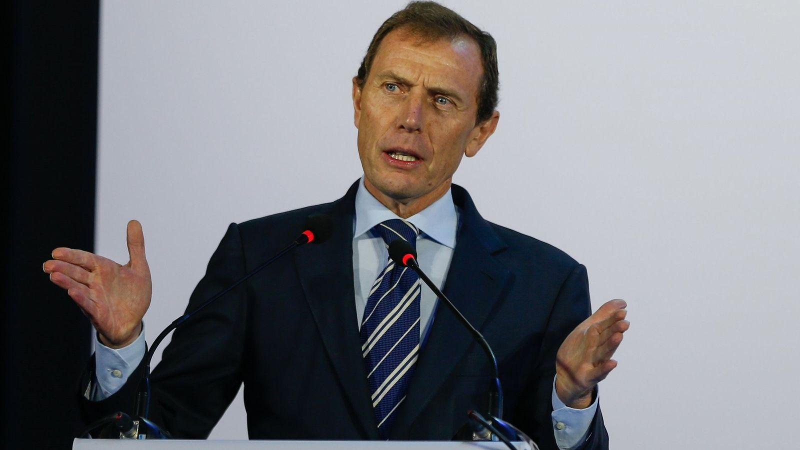 Foto: Emilio Butragueño, director de relaciones institucionales del Real Madrid. (Efe)