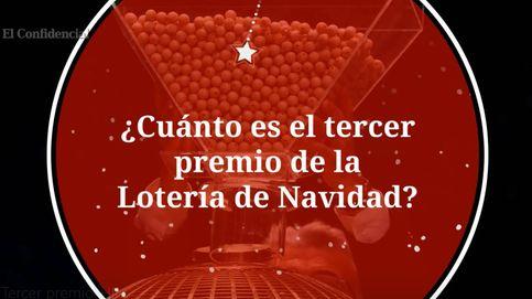 Tercer premio de la Lotería de Navidad: cuantía y retenciones