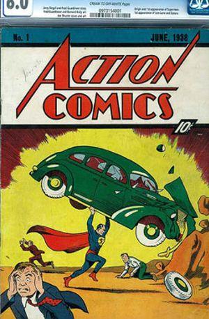El primer Supermán se convierte en el cómic subastado más caro de la historia