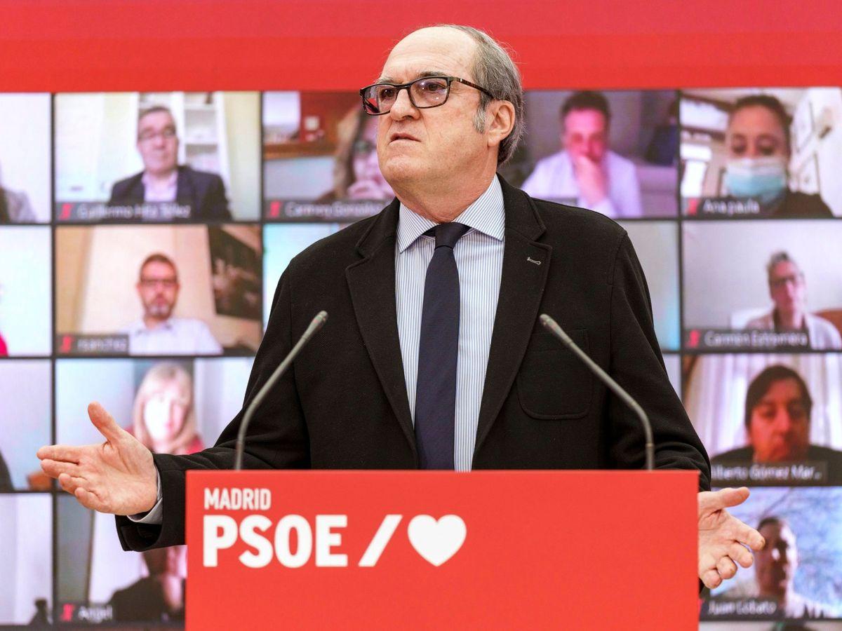 Foto: Encuentro telemático del psoe con alcaldes socialistas