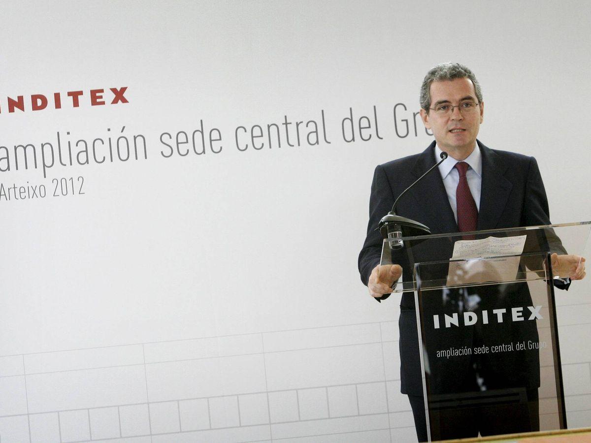 Foto: El presidente de Inditex, Pablo Isla.