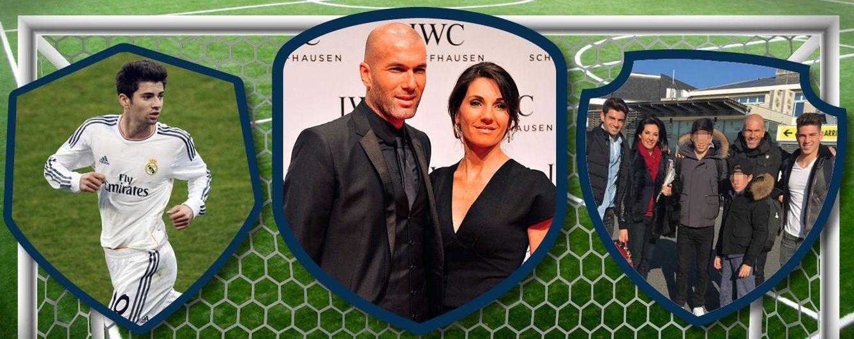 Véronique Zidane, la nueva 'jefa' del Real Madrid, y su gran familia de futbolistas
