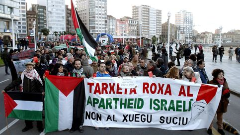 La chapuza de la Federación se suaviza: Gijón protesta, pero respeta a Israel