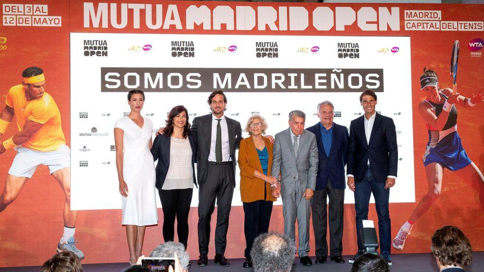 Foto: Presentación del Mutua Madrid Open de 2019. (EFE)