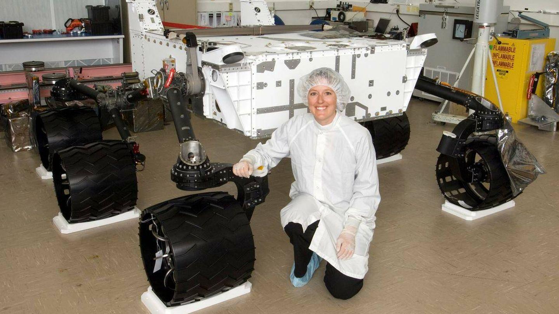 Jaime Waydo, en sus años del JPL en la NASA. (NASA/JPL/Emily Lakdawalla)