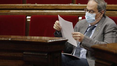 Trifulca en el Parlament: Torra desaira a la oposición y Torrent lo respalda