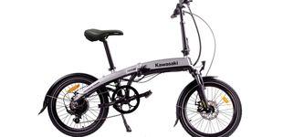 Post de Kawasaki Folding 20: plegar una bici nunca fue tan fácil