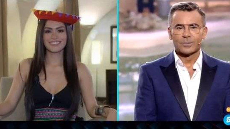 Miriam Saaverda y Jorge Javier, en 'GH VIP 6'. (Telecinco)