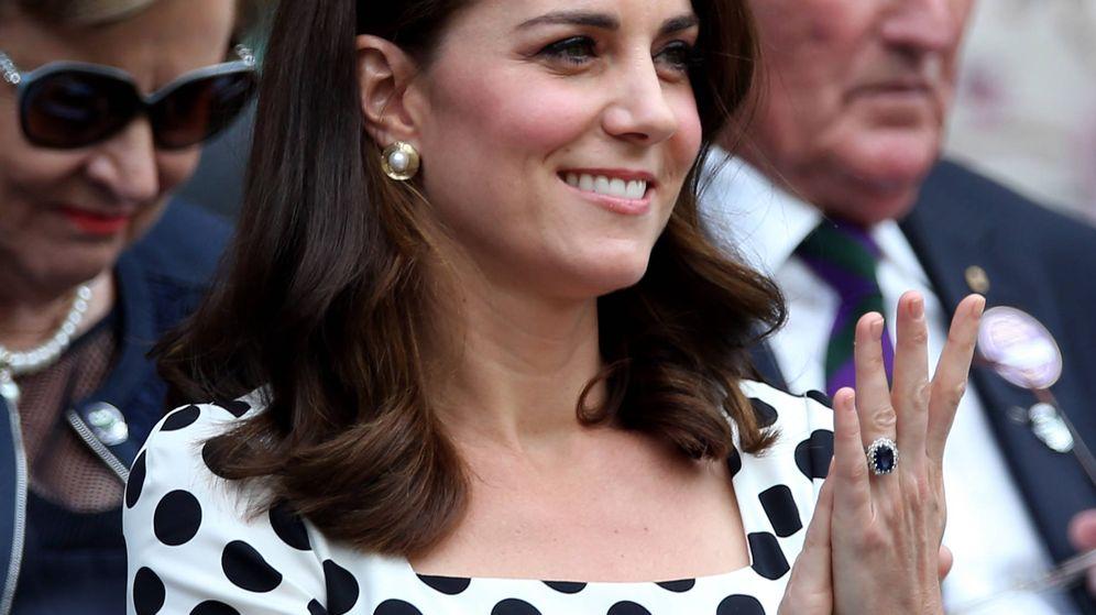 Foto: La duquesa de Cambridge en Wimbledon. (Gtres)