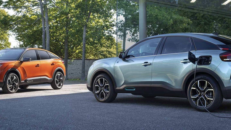 El nuevo Citroën C4 es el último modelo con versión eléctrica lanzado por el grupo PSA antes de la fusión.