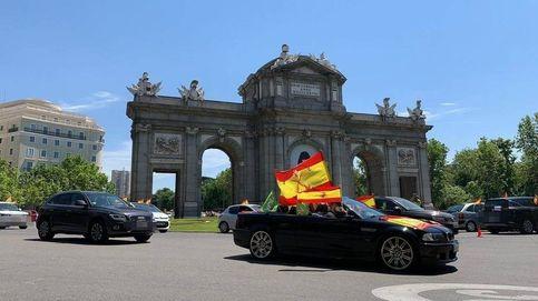 Directo | Las protestas y manifestaciones organizadas por Vox colapsan Madrid