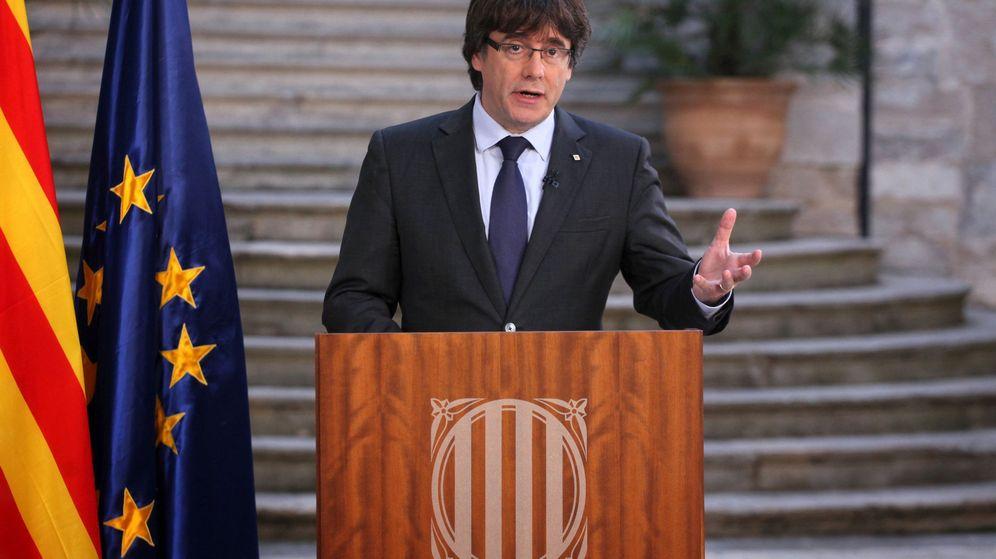 Foto: Fotografia facilitada por la Generalitat de Cataluña del presidente cesado, Carles Puigdemont. (EFE)