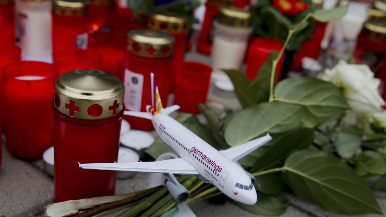 Foto: Imagen de una maqueta de uno de los aviones de Germanwings (Reuters)