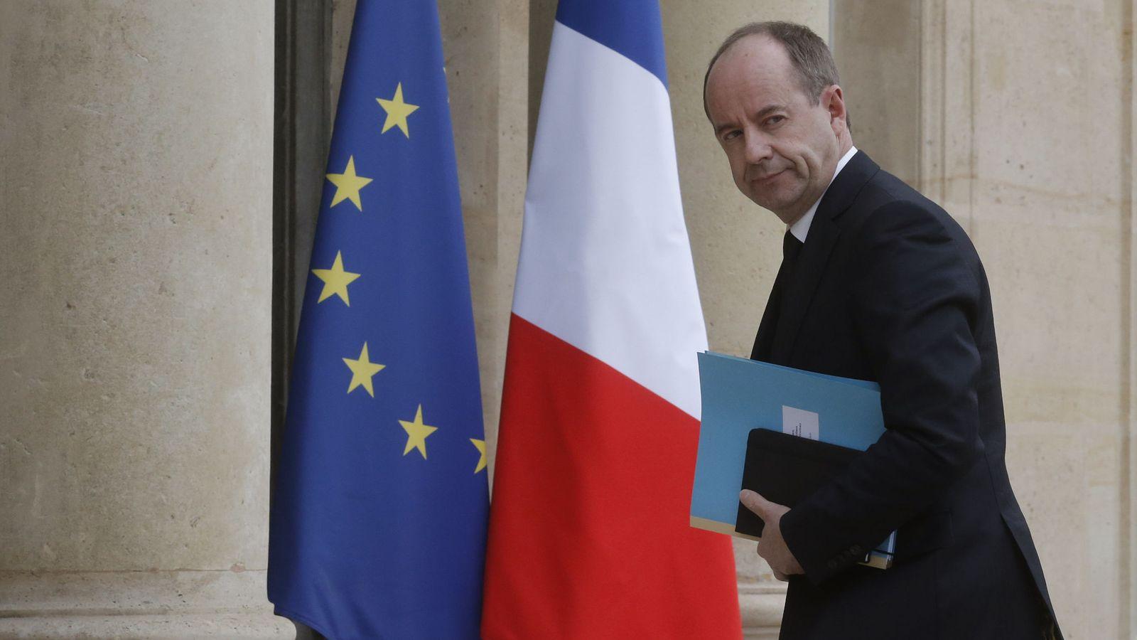 Foto: El ministro de Justicia francés, Jean-Jacques Urvoas. (EFE)