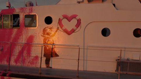 'Louise Michel', el barco de Banksy para rescatar refugiados que partió de Valencia