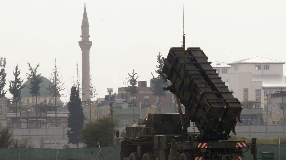 Foto: Una batería de misiles antiaéreos Patriot en Turquía. (EFE)