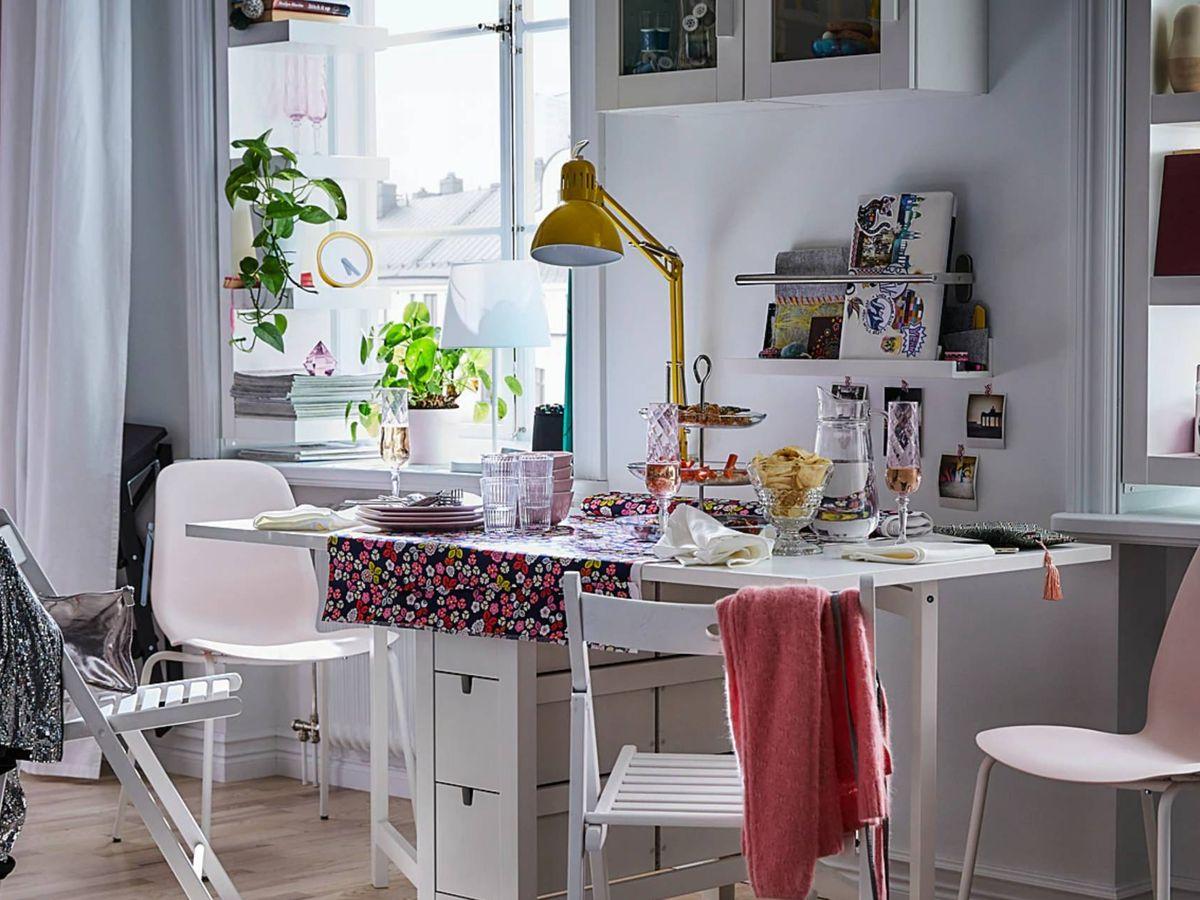 Foto: Muebles de Ikea perfectos para una casa pequeña. (Ikea)