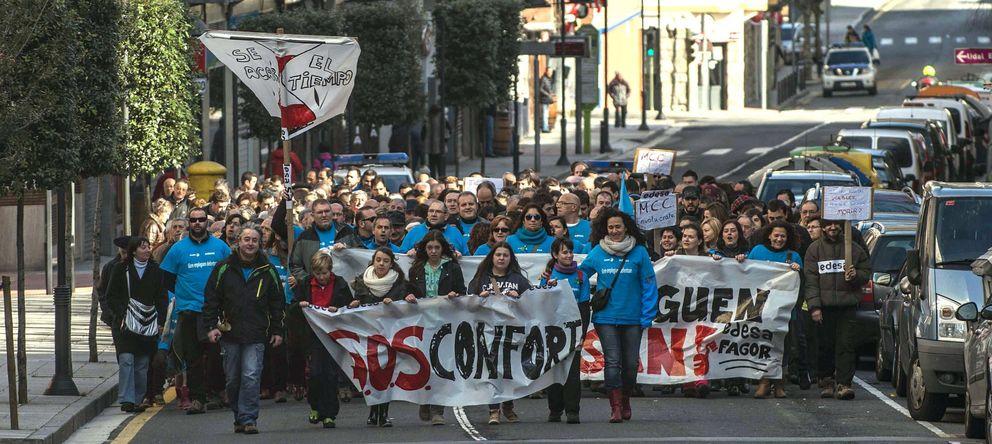 Los trabajadores de Fagor, indignados con los planes de recolocación de Mondragón