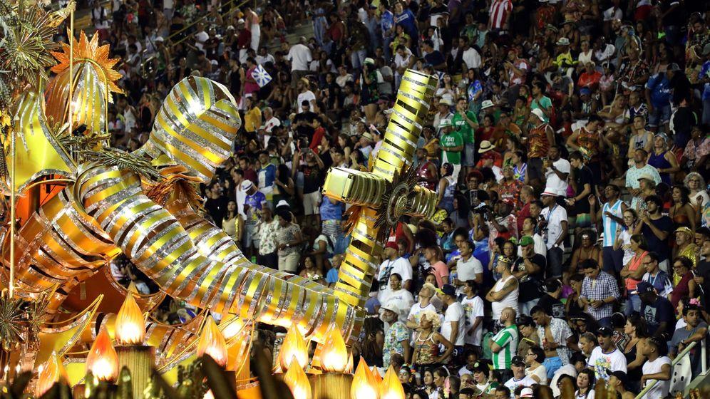 Foto: El carnaval de Río de Janeiro reúne cada año a millones de personas (EFE/Fabio Motta)