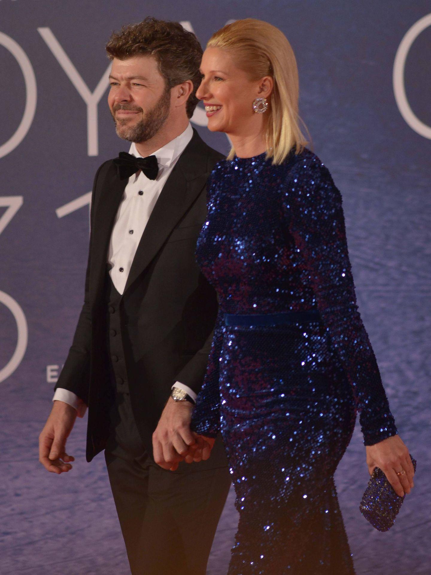 Pablo Heras-Casado y Anne Igartiburu, en una entrega de premios. (Cordon Press)