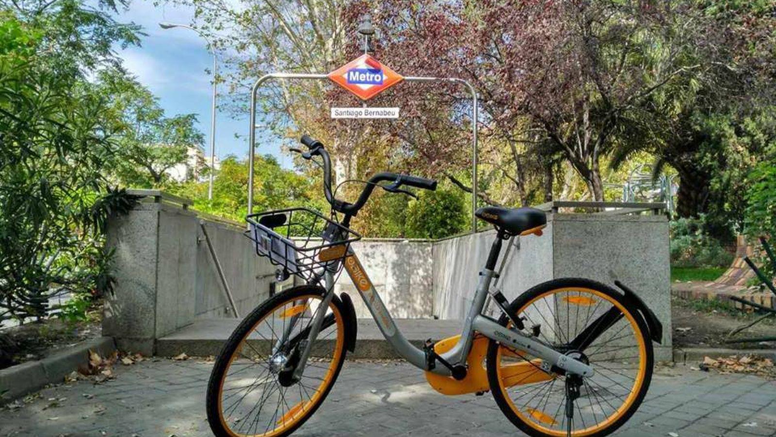 Foto: Ir de sur a norte con una de estas bicicletas es todo un reto (oBike)