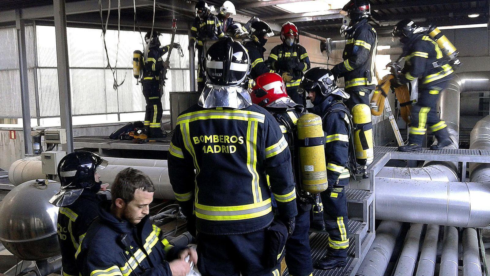 Foto: Bomberos del Ayuntamiento de Madrid. (EFE)