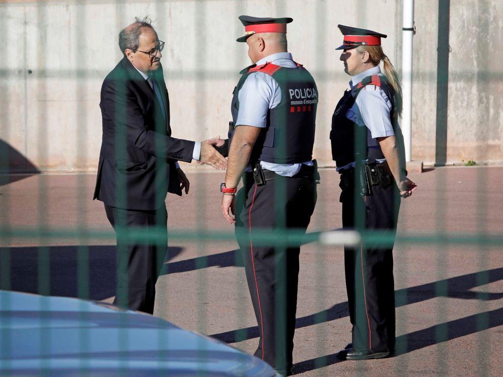 Foto: El presidente de la Generalitat, Quim Torra.