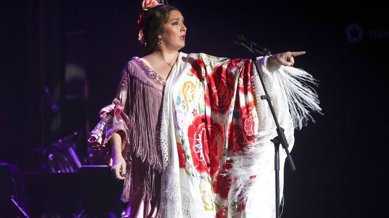 Estrella Morente, en el Teatro Circo Price de Madrid. (EFE)