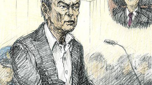Ghosn niega las acusaciones al comparecer por primera vez ante un juez