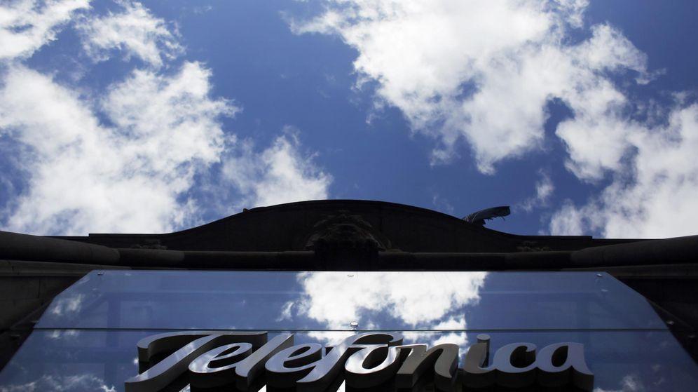 Foto: Logo de Telefónica. (Reuters)