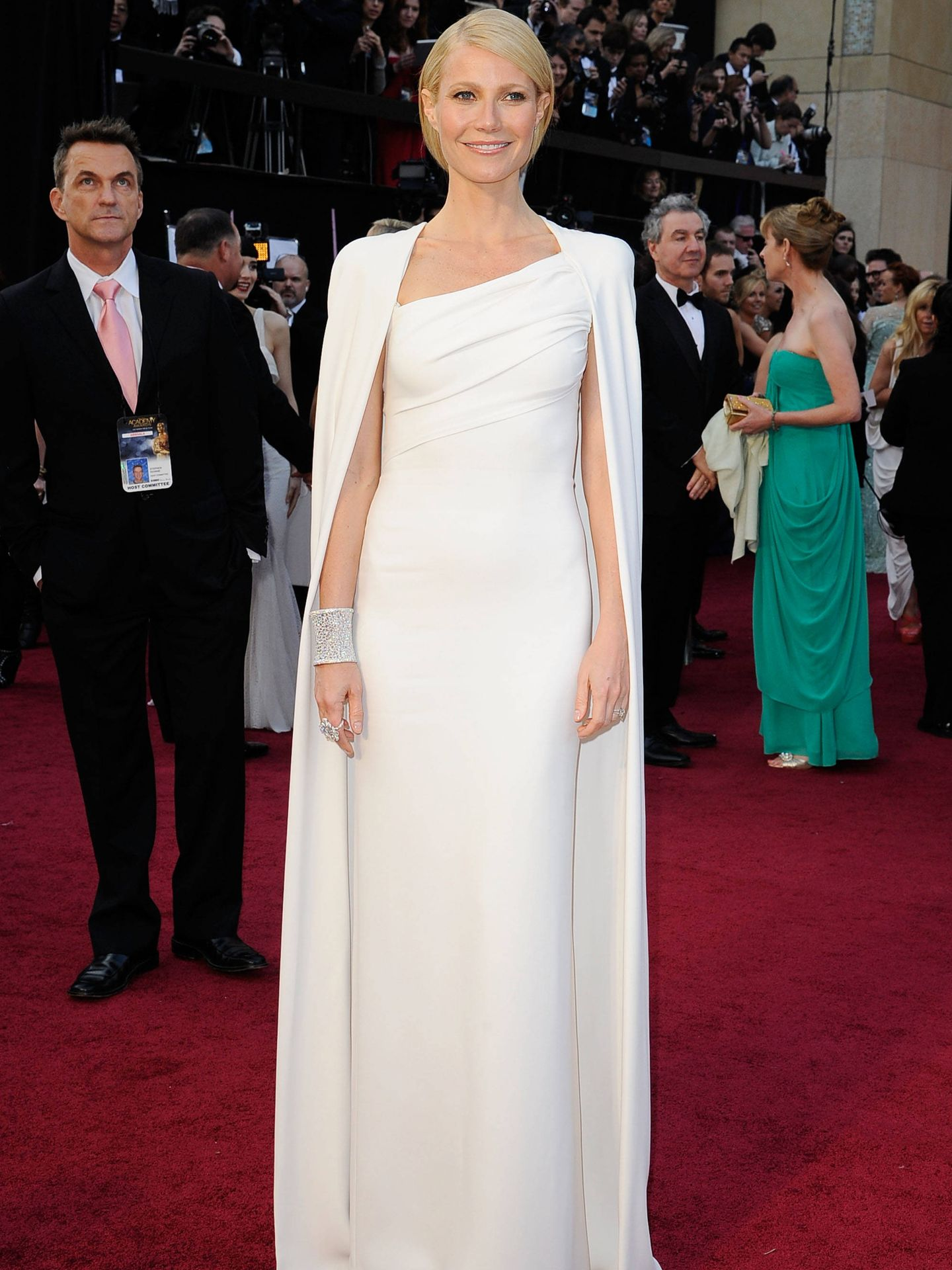 Gwyneth Paltrow, en los Oscar de 2012. (Getty)