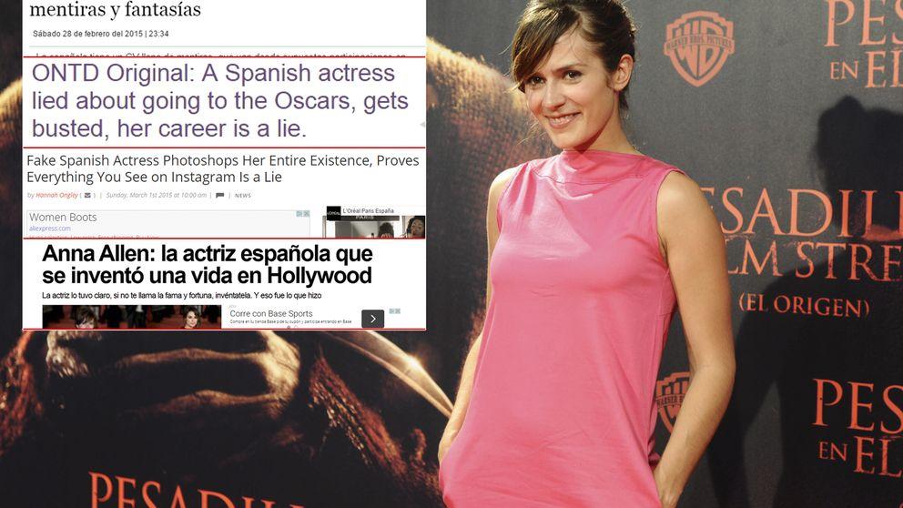 Los engaños de la actriz Anna Allen saltan a la prensa internacional
