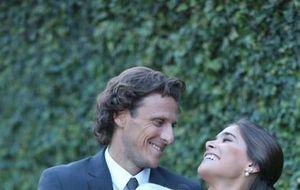 Una boda búnker a prueba de filtraciones para Diego Forlán
