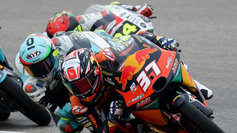 Acosta, en el Gran Premio de Alemania. (EFE)