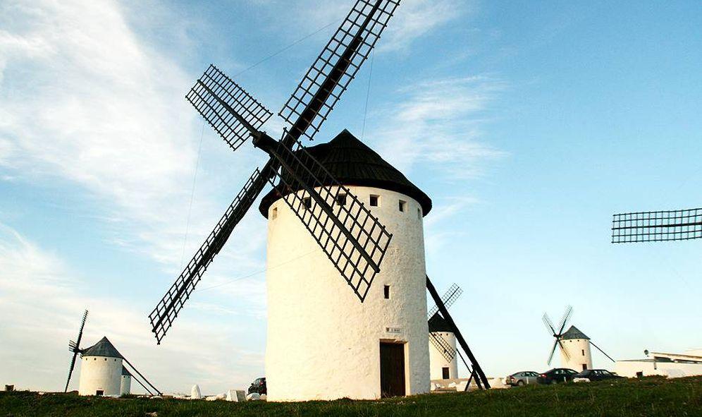 Foto: Estos molinos son cosa de Don Quijote. (Cortesía Tierra de Gigantes)