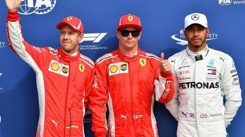 La clasificación del GP de Italia: pole de Raikkonen y golpe de realidad a Mercedes