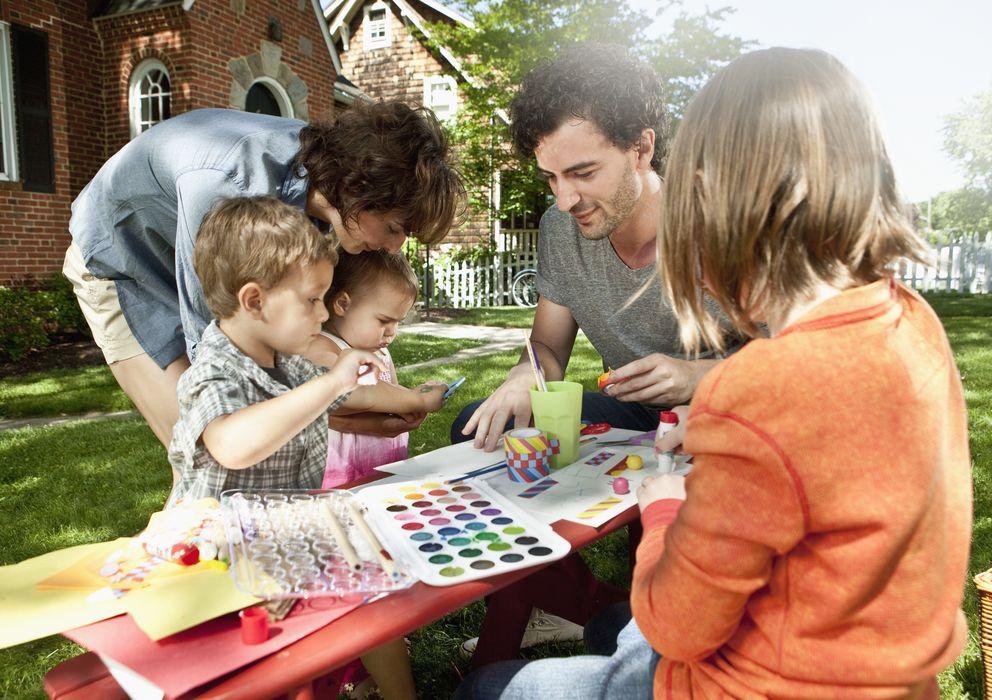 Foto: Trabajar la creatividad es fundamental para el desarrollo de los niños. (Michael Patrick O'Leary/Corbis)