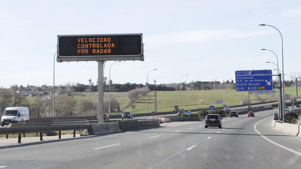 Foto: Casi el 70% de las infracciones que captan los radares son en autopista y autovía