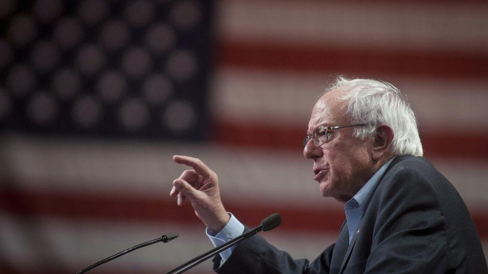 Foto: El candidato a las primarias demócratas Bernie Sanders. (Corbis)