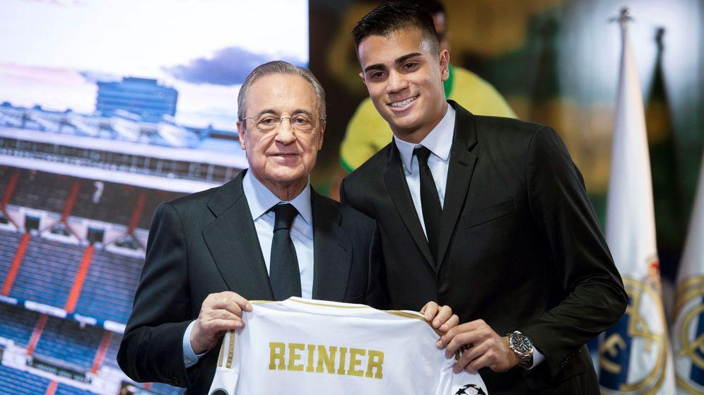 Foto: Reinier es uno de los jugadores en los que mayores esperanzas tiene puestas el Real Madrid. (EFE)