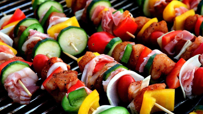 Las verduras tardan en asarse entre 3 y 10 minutos.