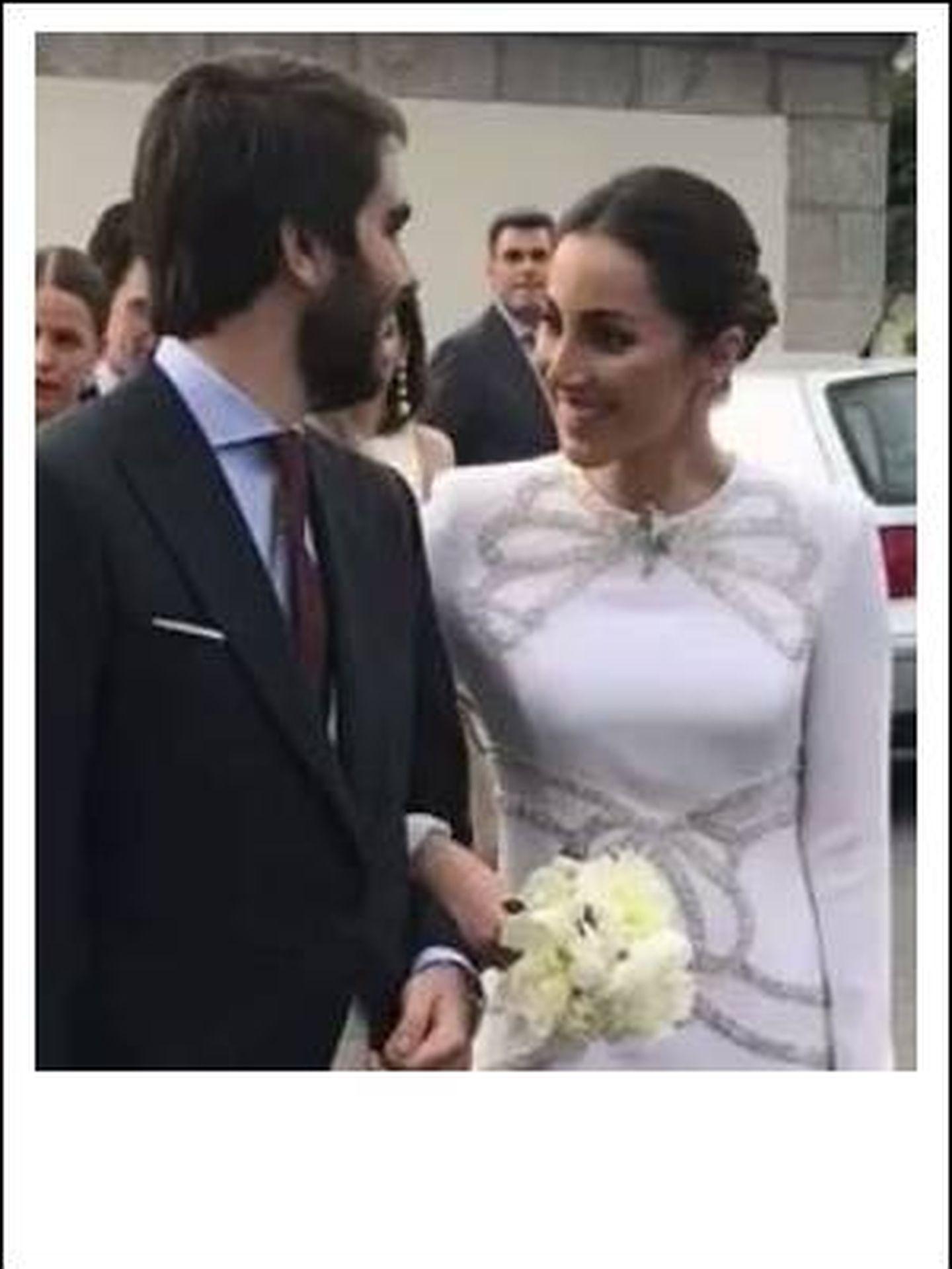 Foto de la boda de la duquesa de Suárez. (Vanitatis)